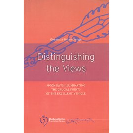 Vajra Publications Distinguishing the Views, by  Gorampa Sönam Senge