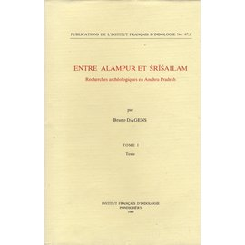 Institut Francais d' Indologie Pondicherry Entre Alampur et Srisailam, par Bruno Dagens