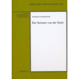 Brepols Der Sermon von der Seele, von Walter Sundermann