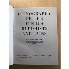 Taraporevala Bombay Iconography of the Hindus, Buddhists and Jains, by R.S. Gupte