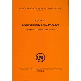 Wiener Studien zur Tibetologie und Buddhismuskunde Jnanasrimitras Viyapticarca, by Horst Lasic