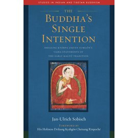 Wisdom Publications Buddhas Single Intention, by Jan Ulrich Sobisch
