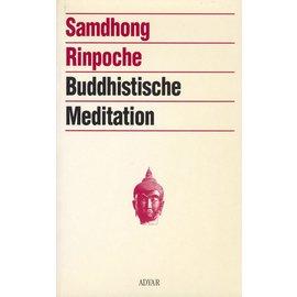 Adyar, Satteldorf Buddhistische Meditation, von Samdhong Rinpoche