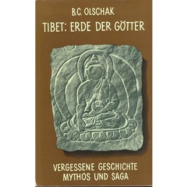 Rascher Verlag Tibet, Erde der Götter, von Blanche Christine Olschak