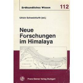 Franz Steiner Verlag Neue Forschungen im Himalaya, von Ulrich Schweinfurth (ed.)
