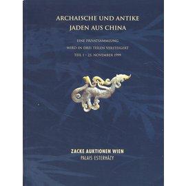 Galerie Zacke Archaische und Antike Jaden aus China, Galerie Zacke