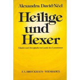 F.A. Brockhaus Wiesbaden Heilige und Hexer, von Alexandra David-Neel