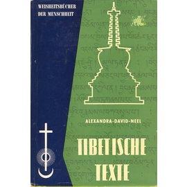 Otto Wilhelm Barth Verlag Unbekannte Tibetische Texte, von Alexandra David-Neel