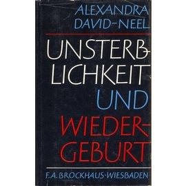 F.A. Brockhaus Wiesbaden Unsterblichkeit und Wiedergeburt, von Alexandra David-Neel