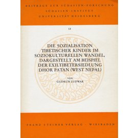 Franz Steiner Verlag Die Sozialisation Tibetischer Kinder im soziokulturellen Wandel,  von Gudrun Luwar