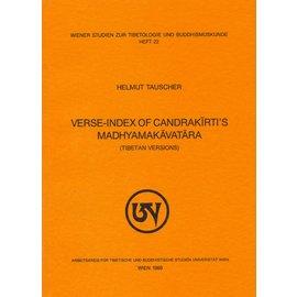 WSTB Verse-Index of Candrakirti's Madhyamakavatara, by Helmut Tauscher