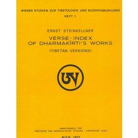 WSTB Verse-Index of Dharmakirti's Works, by Ernst Steinkellner