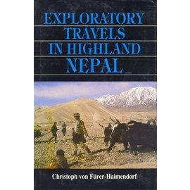 Sterling Publishers, Delhi Exploratory Travels in Highland Nepal, by Christoph von Fürer-Haimendorf