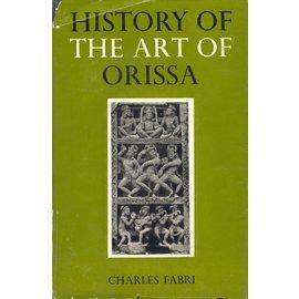 Orient Longman Bombya History of the Art of Orissa, by Charles Fabri