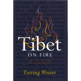 Verso London Tibet on Fire, by Tsering Woeser