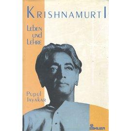 Hermann Bauer Verlag Freiburg Krishnamurti: Leben und Lehre, von Pupul Jayakar
