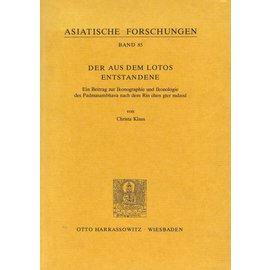 Otto Harrassowitz Wiesbaden Der aus dem Lotos Entstandene, von Christa Klaus