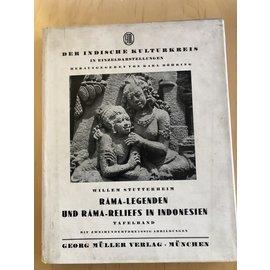 Georg Müller Verlag München Rama-Legenden und Rama-Reliefs in Indonesien, 2 Bände, von Willem Stutterheim