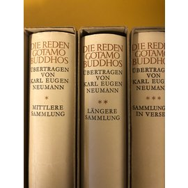 Piper München Die Reden Gotamo Buddhos, Mittlere Sammlung, von K. E. Neumann - Artemis