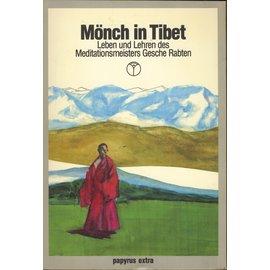 Papyrus Extra Mönch in Tibet, von B. Allan Wallace