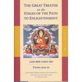 Snow Lion Publications The Great Treatise on the Stages of the Path to Enlightenment, Lam Rim Chen Mo, by Tsong-Kha-Pa