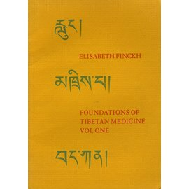 Watkins London Foundations of Tibetan Medicine, Vol 1, by Elisabeth Fnckh