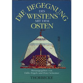 Jan Thorbecke Verlag Die Begegnung des Westens mit dem Osten hrg. Odilo engels und Peter Schreiner