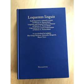 Harrassowitz Loquentes linguis, a cura di Pier Giorgio Borbone, Allessandro Mengozzi, Maro Tosca
