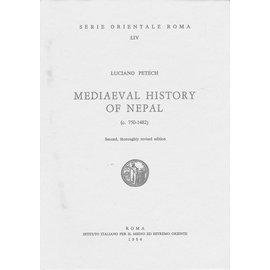 Istituto Italiano per il Medio ed Estremo Oriente Mediaeval History of Nepal, by Luciano Petech