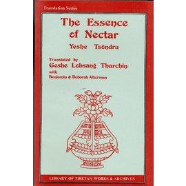 LTWA The Essence of Nectar, Yeshe Tsöndru, trnsl. by Geshe Lobsang Tharchin with Benjamin and Deborah  Alterman