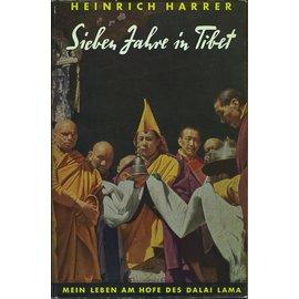 Schweizer Druck- und Verlagsanstalt Zürich Sieben Jahre in Tibet, von Heinrich Harrer