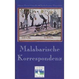 Jan Thorbecke Verlag Malabarische Korrespondenz, von Johann Ernst Gründler, Bartholomäus Ziegenbalg