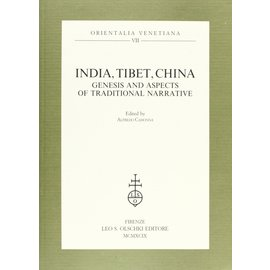 Leo Olschki Editore India, Tibet, China: Genesis and Aspects of Traditional Narrative, by Alfredo Cadonna