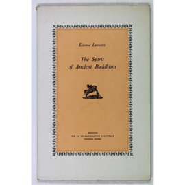 Leo Olschki Editore Spirit of Ancient Buddhism, by Etienne Lamotte