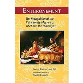 Snow Lion Publications Enthronement, by  Jamgon Kongtrul Lodrö Taye