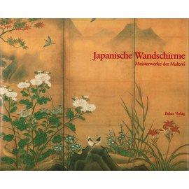 Belser Verlag Japanische Wandschirme, Meisterwerke der Malerei, von Miyeko Murase