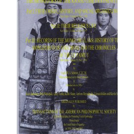 Plateau Publications, Xining The Monguors of the Kansu-Tibetan Frontier, by Louis M.J. Schram