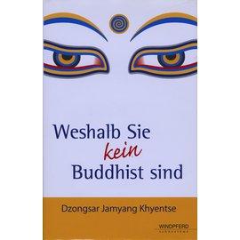 Windpferd Verlag Weshalb Sie kein Buddhist sind, von Dzongsar Jamyang Khyentse