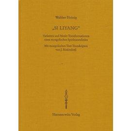 Harrassowitz Si Liyang, von Walther Heissig