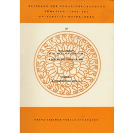 Franz Steiner Verlag Veda-Laksana - Vedic Ancillary Literature,  A Descriptive Bibliography