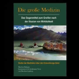 Manjughosha Edition Die Grosse Medizin, von Shechen Gyaltsap Gyurme Pema Namgyal