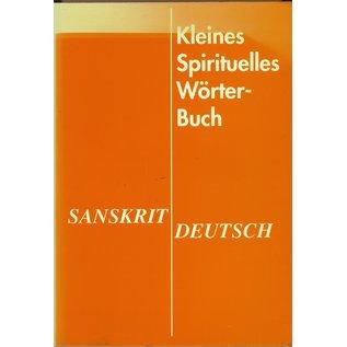 Sathya Sai Vereinigung Kleines Spirituelles Wörterbuch Sanskrit-Deutsch, von Rosmarie Roloff