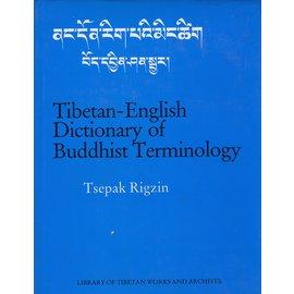 LTWA Tibetan English Dictionary of Buddhist Terminology, by Tsepak Rigzin