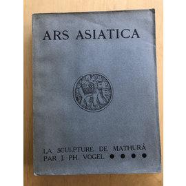 Les Editions G. van Oest La Sculpture de Mathurâ, par J. Ph. Vogel (Ars Asiatica 15, 1930)