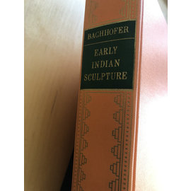 Hacker Art Books, N.Y. Early Indian Sculpture, by Ludwig Bachhofer