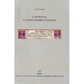 IITBS, Andiast Contributions to Tibetan Buddhist Literature, by Orna Almogi