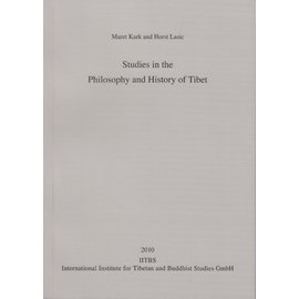 IITBS, Andiast Studies in the Philosophy and History of Tibet, by Maret Kark, Horst Lasic