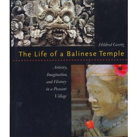 University of Hawai'i Press The Life of a Balinese Temple, by Hildred Geertz
