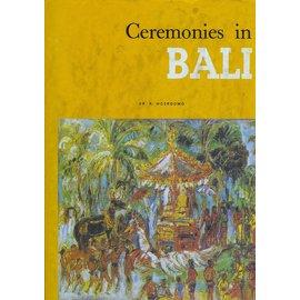 Penebitan Yayasan Kanisius Ceremonies in Bali, by Dr. R. Moerdowo