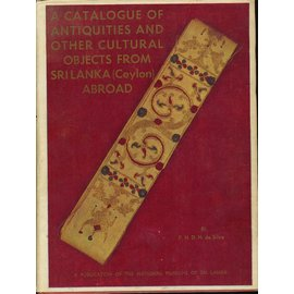 National Museums of Sri Lanka A Catalogue of Antiquities and other Cultural Objects from Sri Lanka
